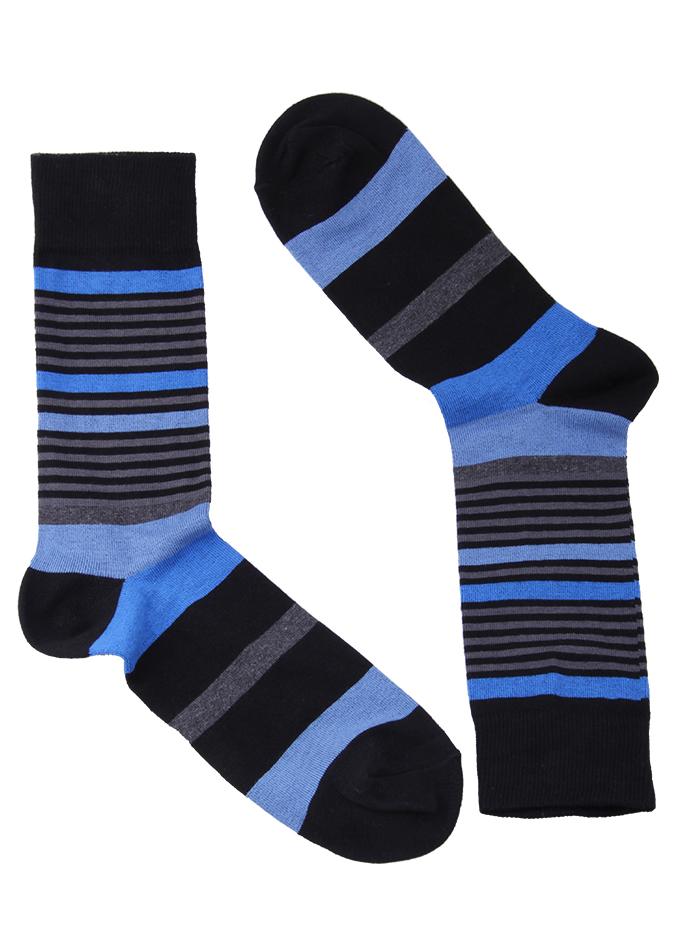 JBS Stripe blauw grijs